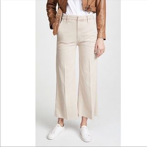 MOTHER The Roller Crop Prep Fray So Far Gone Jeans